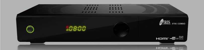 Decodificador IRIS 9700HD COMBO